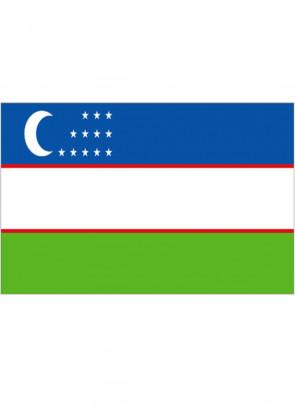 Uzbekistan Flag 5x3