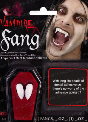 Vampire / Dracula Fangs Tooth Caps