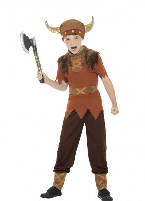 Viking Boy - Brown - Costume
