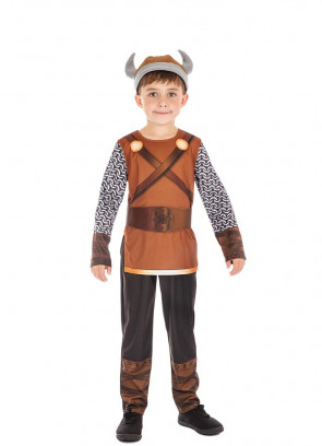 Viking Boy - Chain Mail Costume