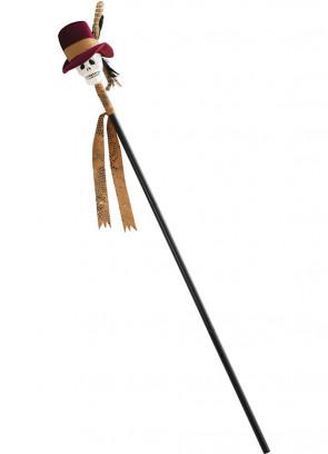 "Voodoo Skull Cane 110cm (43"")"