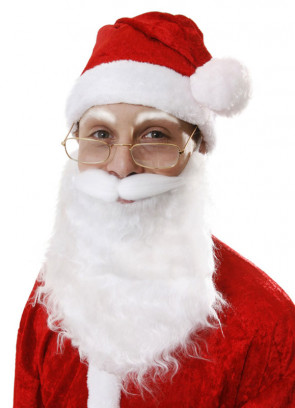 Santa Beard on Elastic