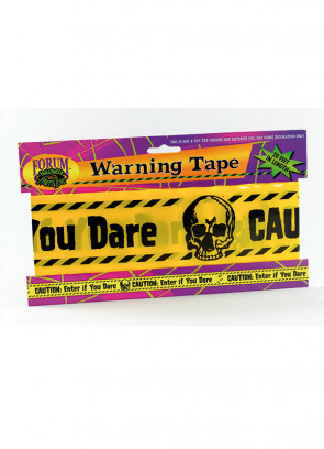 "Hazard Tape "" Caution Enter If You Dare"" (20ft)"