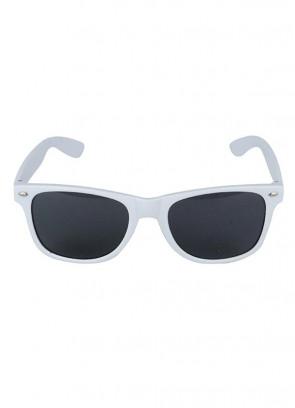 White Frame Glasses