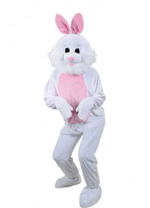 White Bunny Rabbit Mascot