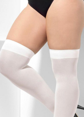 White Stockings - XL - Dress Size 16-22