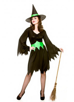 Emerald City Wicked Witch Costume