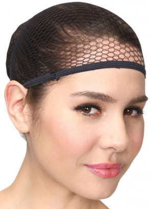 Fishnet Wig Cap - Black