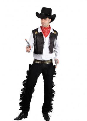 Wild West Cowboy (Black) Costume*