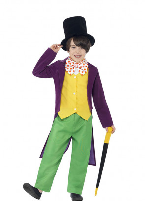Willy Wonka Boys - The Chocolate Factory - Roald Dahl