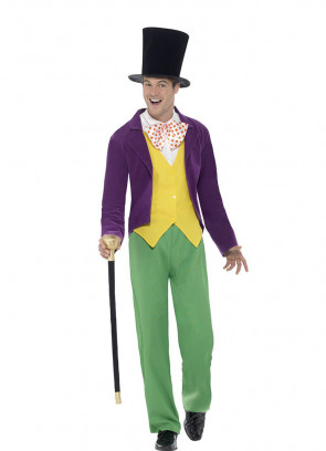 Willy Wonka - Roald Dahl - Mens Costume