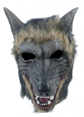 Wolf Mask - Brindle Effect
