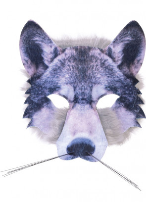 Wolf Mask (Realistic Fur)