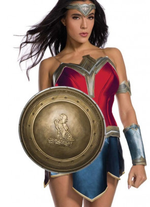 "Wonder Woman 12"" Shield Kids"