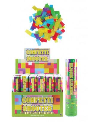 Small Confetti Cannon - 20cm - Biodegradable - x12