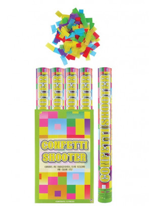 Large Confetti Cannon - 50cm - Biodegradable - x12