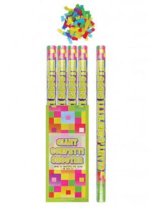 Giant Confetti Cannon - 80cm - Biodegradable - x12