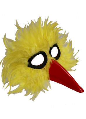 Bird Eye Mask Yellow