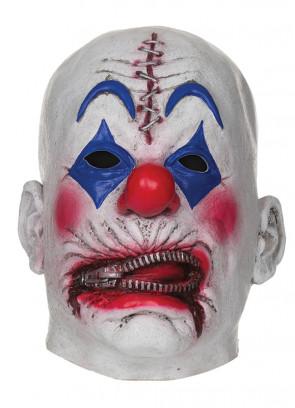 Zipper Clown Mask
