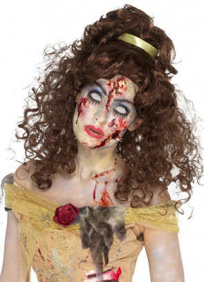 Zombie Golden-Fairytale Princess - Brown Wig