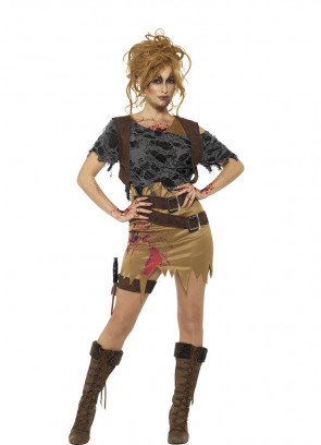 Zombie Huntress Costume