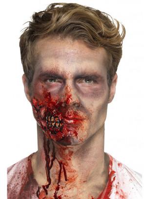 Zombie Jaw Latex Prosthetic