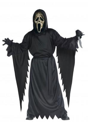 Zombie Scream Ghost Face (Boys) Costume