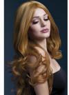 Deluxe Rhianne Long Curly Wig - Auburn - Styleable