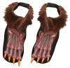 Werewolf Shoe Covers (Brown)
