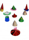 72 Mini Paper Party Hats (assorted)