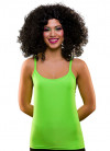 80s Vest Top Neon Green