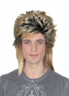 80's New Romantic - Blonde Mullet Wig