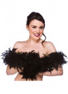 Feather Boa Black 60g