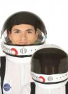 Astronaut Spaceman Helmet - Closing Visor