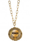 Gold Medal on Chain - Winners Medal