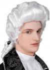 Baroque Male White Wig