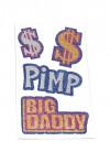 Big Daddy Pimp Dollar Tattoos