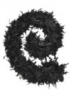 Feather Boa Black 80g