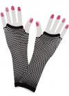 80s Fishnet Gloves (Black)