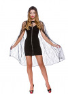 Spider Web Cape With Hood