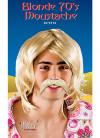 70s Moustache - Blonde