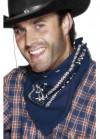 Cowboy Bandana 55cm - Blue
