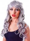 Temptress Silver/Grey Wig
