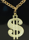 Dollar Medallion & Chain Necklace