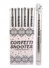 Silver Foil Confetti Blaster - 50cm