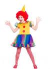 Cute Little Clown (Girls) Costume