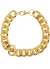Chunky Gold Disco Bracelet