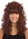 Esmeralda Auburn - Long Curly Wig
