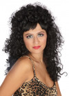 Esmeralda Black - Long Curly Wig