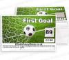 First Goal Football Scratch Cards - Fundraising Tickets 00-90 ------ 10 PACKS